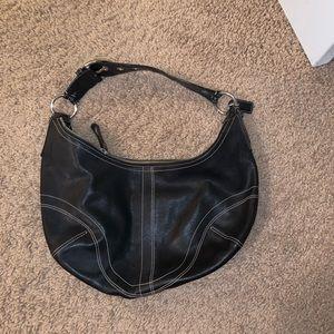 Coach Leather Hobo Bag - small
